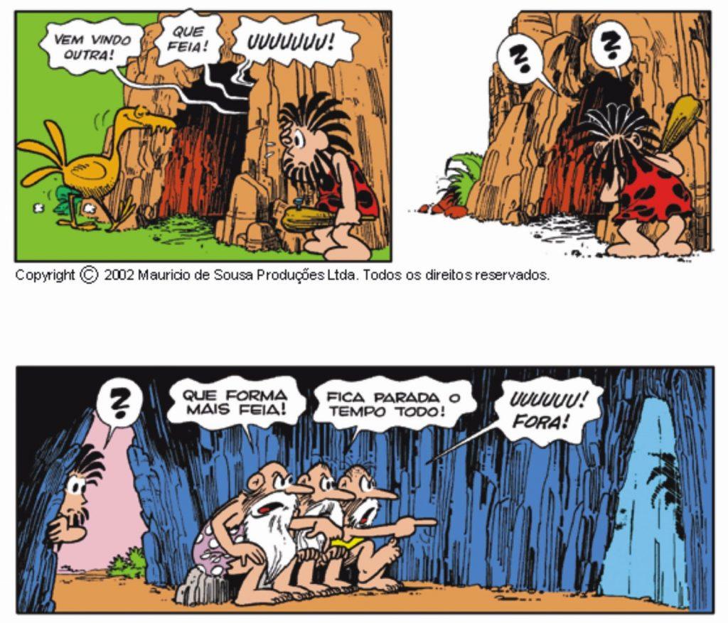 Mito da caverna - HQ Maurício de Souza - Imagem 2