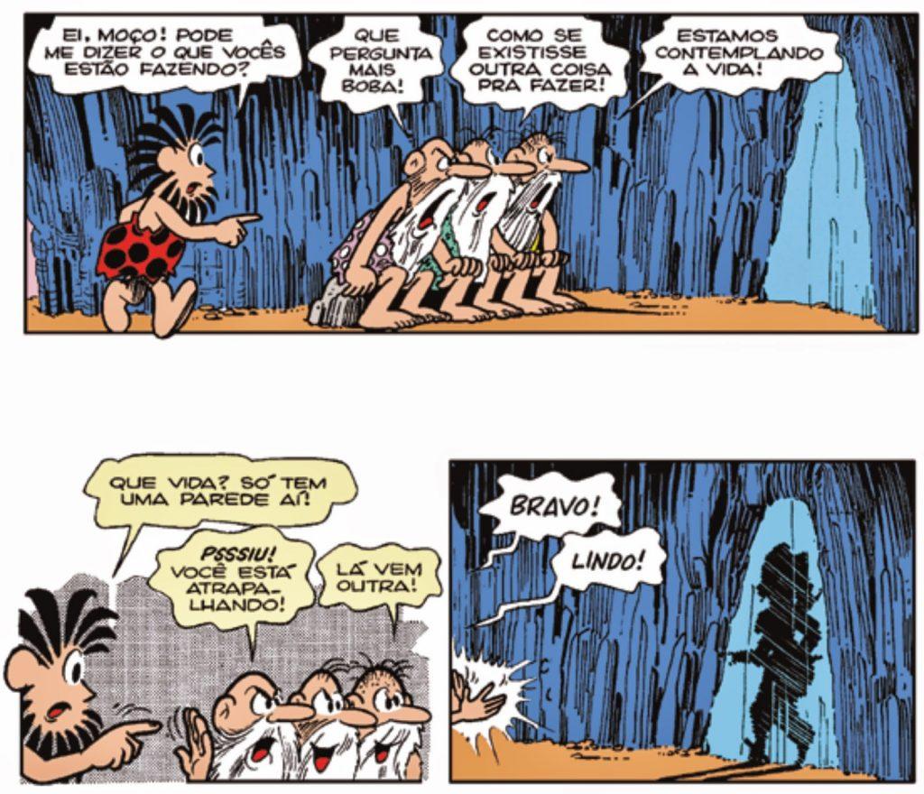 Mito da caverna - HQ Maurício de Souza - Imagem 3