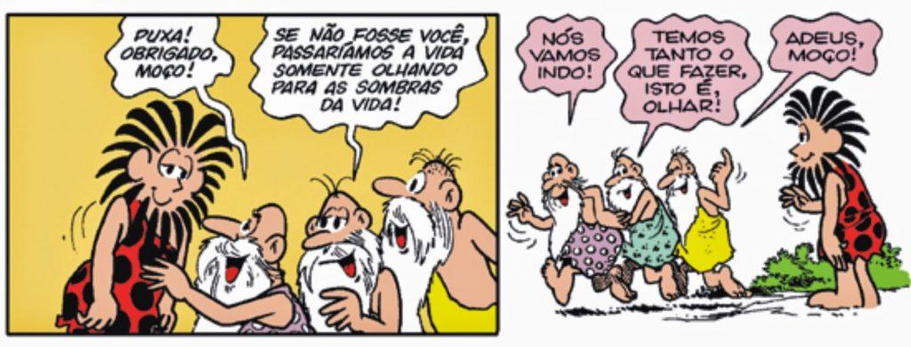 Mito da caverna - HQ Maurício de Souza - Imagem 9