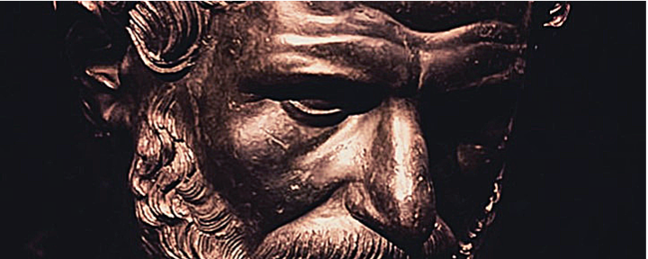 Imagem de Heráclito sério